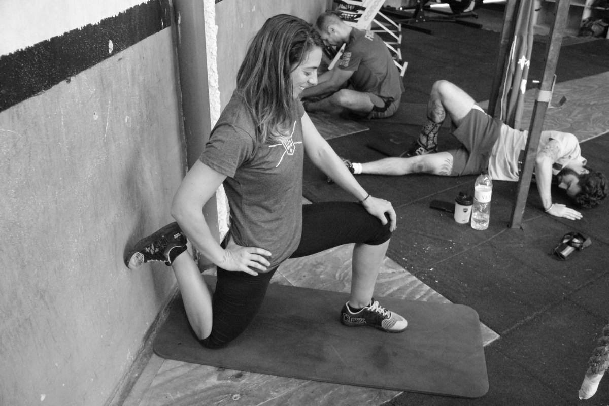 Estiramiento y flexibilidad en las sentadillas