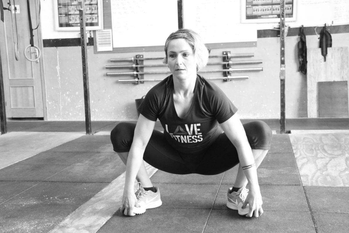 Sentadillas flexibilidad de cadera